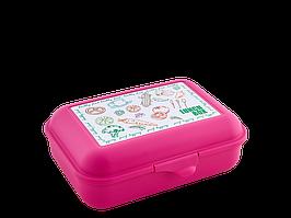 Бутербродница (Ланч, т.розовая)