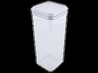 Емкость для сыпучих продуктов 2,25л. (_пр./белая)