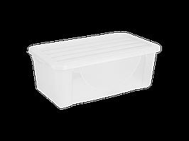 Емкость для хранения вещей с крышкой  6л. (прозрачная)