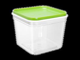 """Емкость для сыпучих продуктов """"Фикс"""" 0,6л. (_пр./оливк.)"""