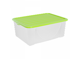Ємність для зберігання речей з кришкою 9,6 л. (оливки.)