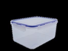 Контейнер для харчових продуктів із зажимом прямокутний 4,0 л. (пр.)