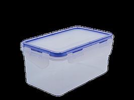 Контейнер для харчових продуктів із зажимом прямокутний 1,5 л. (пр.)