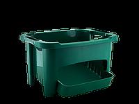 Корзина для хранения овощей (зелёная)