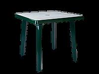 Стол квадратный (зелёный)