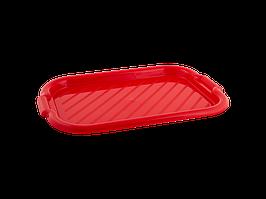 Піднос прямокутний 45*30*4см. (червона)