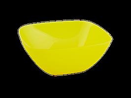 Салатница 120*120*55мм. (жовта пр.)