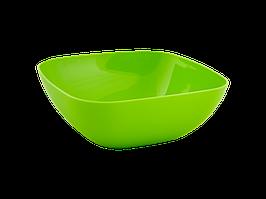 Тарілка глибока 150*150*55мм. (оливки.)