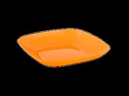 Тарелка 250*250*30мм. (оранж. пр.)