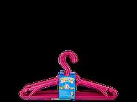 Вешалка детская (набор 5 шт.) (т.розовый)