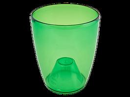 """Вазон """"Орхідея"""" 20*24 см. (зелен. тощо)"""