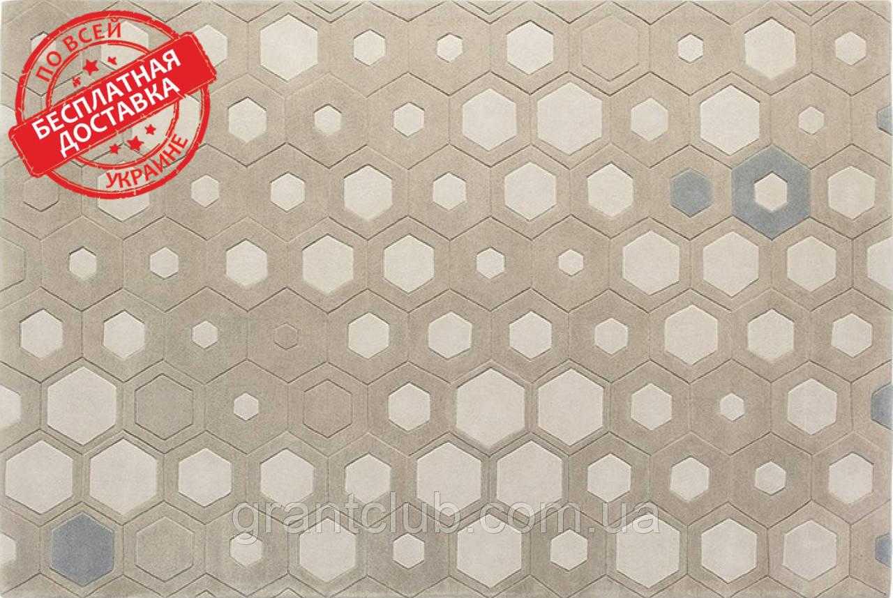 Шерстяной ковер HEXAGON Haute couture 170x240 Sitap Италия (бесплатная адресная доставка)