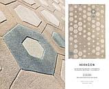 Шерстяной ковер HEXAGON Haute couture 170x240 Sitap Италия (бесплатная адресная доставка), фото 4