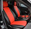 Чехлы на сиденья Ниссан Тиида (Nissan Tiida) (модельные, экокожа Аригон, отдельный подголовник), фото 4
