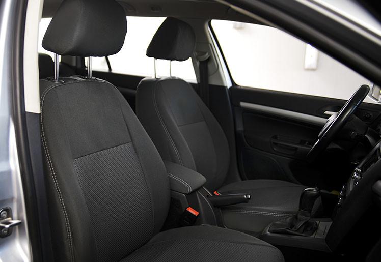 Чехлы на сиденья Ниссан Примастар Ван (Nissan Primastar Van) 1+1 (модельные, автоткань, отдельный подголовник)