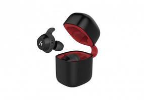 Наушники Bluetooth  VIDEX VHD-G1, black/red,с микрофоном (20шт/ящ)