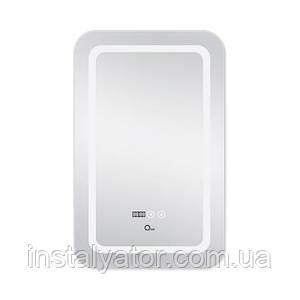 Зеркало Q-tap Mideya LED DC-F911 с антизапотеванием 500х800