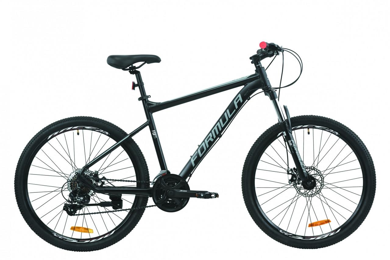"""Гірський велосипед AL 27.5"""" Formula F-1 AM DD 2020 (чорно-білий (м))"""