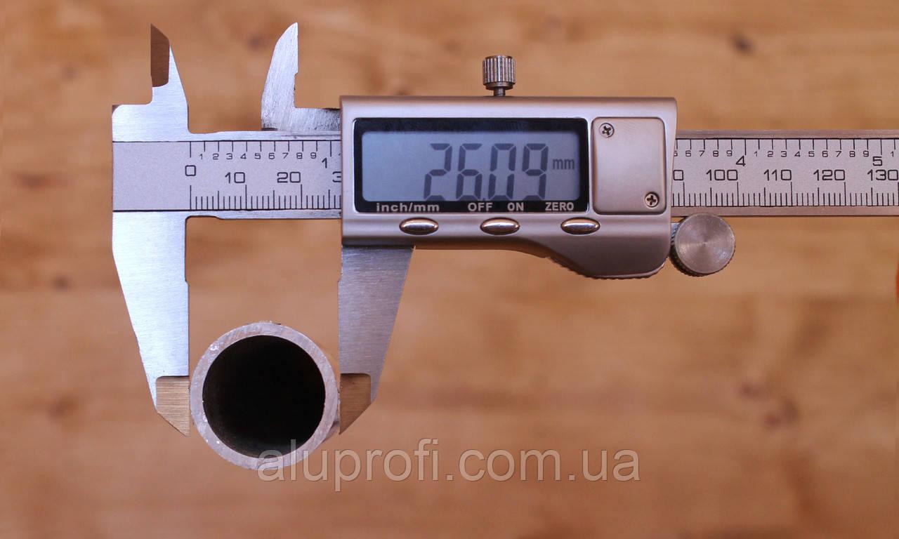 Труба  алюминиевая ф26 мм (26х3,5мм)  АД31