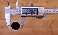 Труба  алюминиевая ф28 мм (28х4мм)  АД31, фото 1