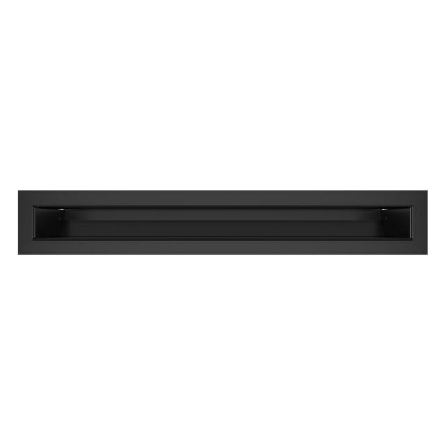 Вентиляційна решітка для каміна SAVEN Loft 60х400 чорна