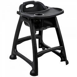 Детский стульчик для ресторана One Chef  черный 59,7х59,7 см h75,6 см (B9901B)