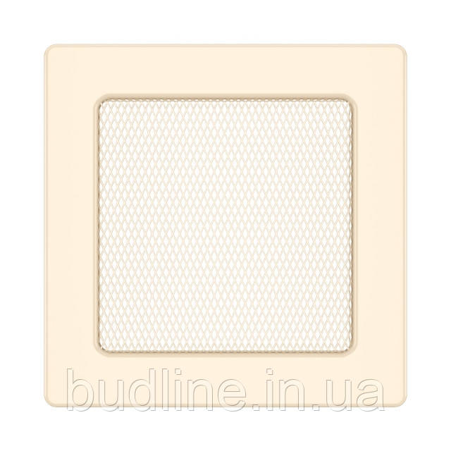 Вентиляційна решітка для каміна SAVEN 17х17 кремова
