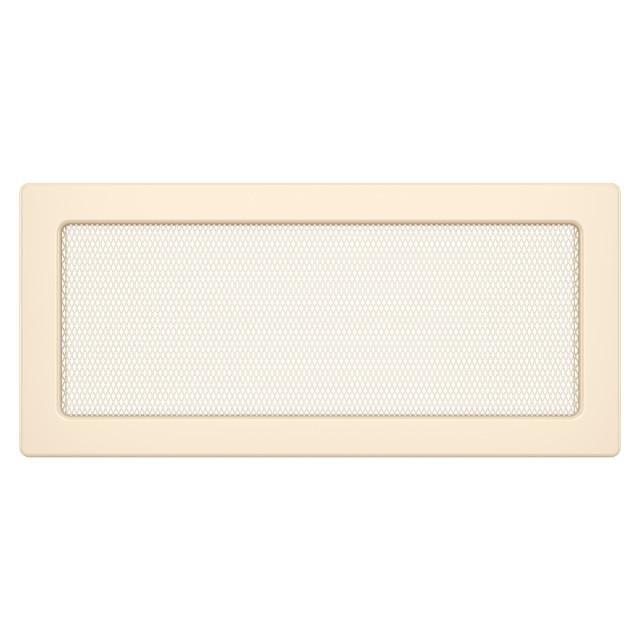 Вентиляційна решітка для каміна SAVEN 17х37 кремова