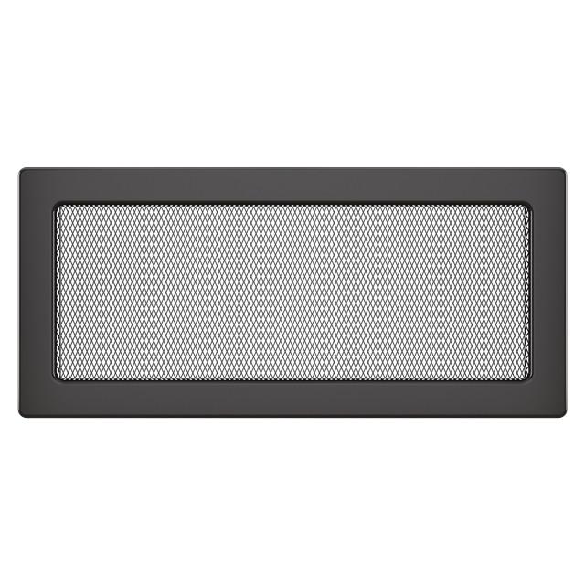 Вентиляційна решітка для каміна SAVEN 17х37 графітова