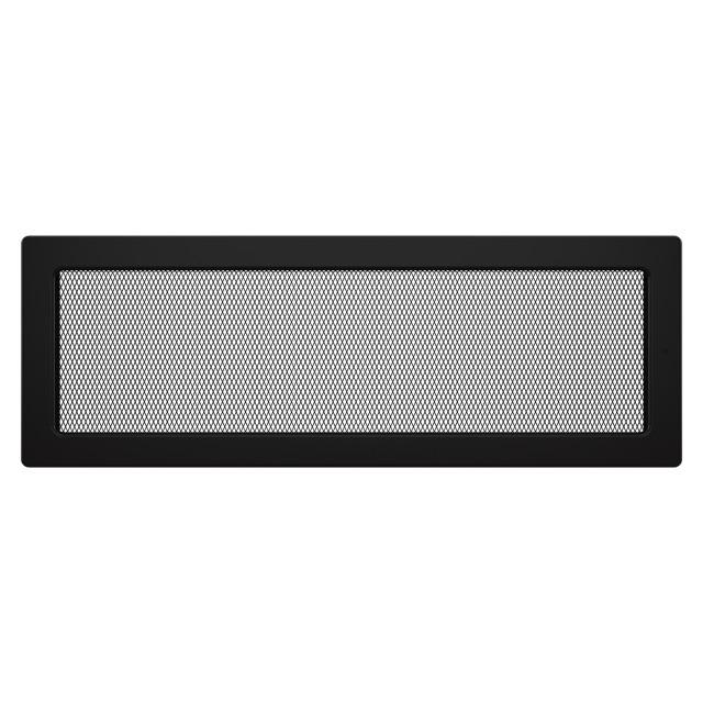 Вентиляційна решітка для каміна SAVEN 17х49 чорна