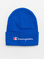 Зимняя шапка Champion синяя, фото 1