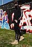Штаны утеплённые чёрные Quest Wear джоггеры
