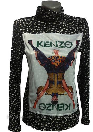 Женский свитер принт