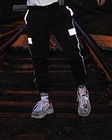 Cпортивные штаны Пушка Огонь Wline черные, фото 1