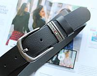 Женский кожаный ремень Tommy Hilfiger черный, фото 1