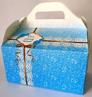 Коробки для свадебного каравая, тифани