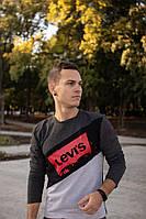 Мужской свитшот LEVI'S 3-х цветный, фото 1