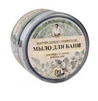 Натуральное сибирское Черное мыло для бани  для ухода за телом и волосами, Рецепты бабушки Агафьи