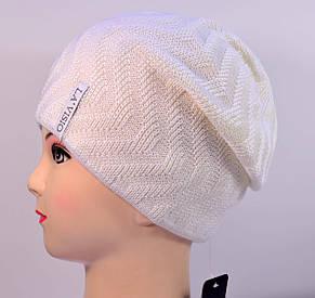 Женская вязаная шапка La Visio 344 двухсторонняя  , фото 2