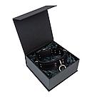 Премиум ошейник LOVECRAFT размер M черный, натуральная кожа, в подарочной упаковке, фото 4