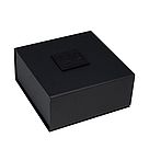 Премиум ошейник LOVECRAFT размер M черный, натуральная кожа, в подарочной упаковке, фото 5