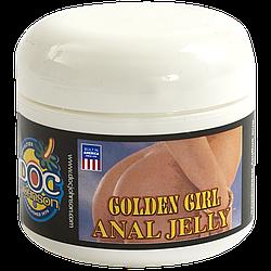 Анальная гель-смазка DocJohnson Golden Girl Anal Jelly (56 мл) на масляной основе, увлажняющая