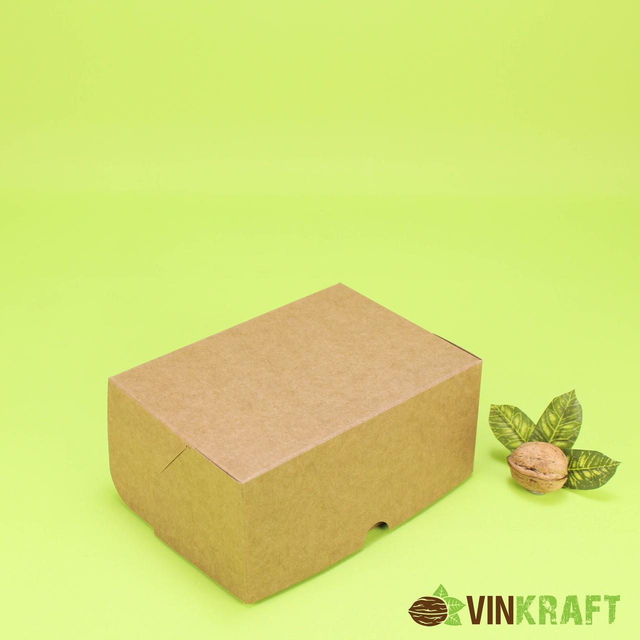 "Коробка 170*100*80 контейнер  ""крафт"""