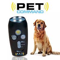 🔝 Ультразвуковой прибор для дрессировки собак Pet Command Training System (свисток, отпугиватель + манок)   🎁%🚚