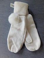 Рукавиці для дівчинки 170 см (14-15 years) білий  H&M 58848