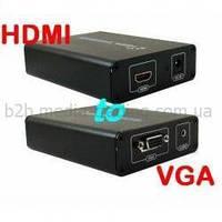Кабель ATCOM Конвертер HDMI TO VGA V1009
