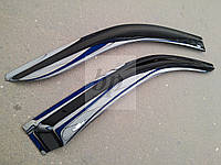 Дефлекторы окон (ветровики) Mercedes-benz vito (w639) (мерседес-бенц вито) 2004г+