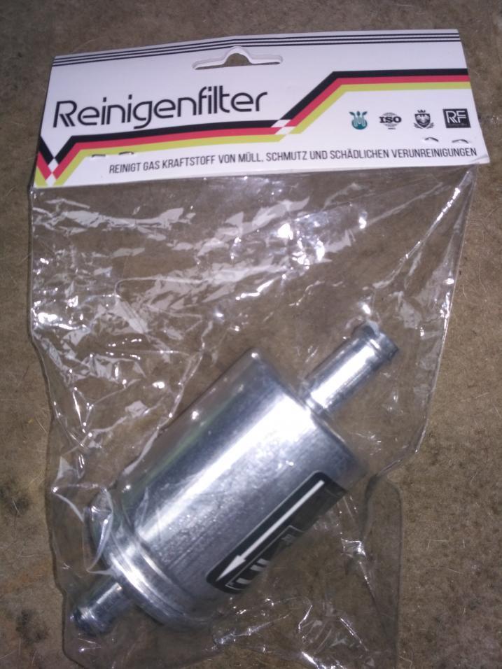 Фильтр газа тонкой очистки 12-12 RF металл