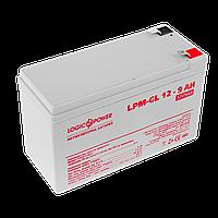 Аккумулятор гелевый LogicPower 12В 9 Ач (LPM-GL 12 - 9 AH)
