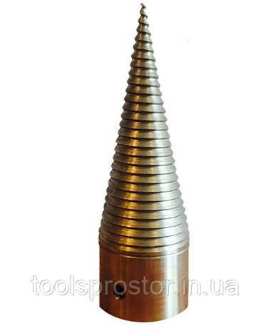 Дровокольный конус Скиф : Диаметр 80 мм | Диаметр под вал 35 мм.